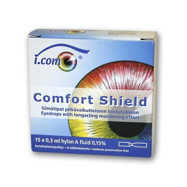 Comfort Shield Øjendråber mod tørre øjne 15 pipetter