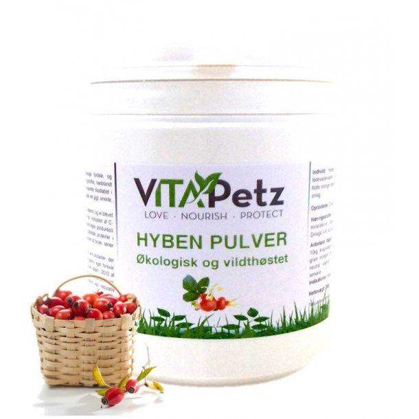 VitaPeetz Hyben Pulver, økologisk 350 g