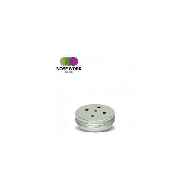 Aluminiumsbeholder med magnet