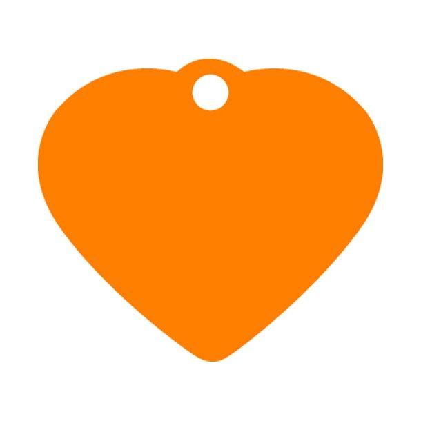 ORANGE hjerte